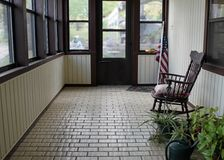 American Porch Stock Images