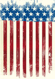 American poster dirty Royalty Free Stock Images