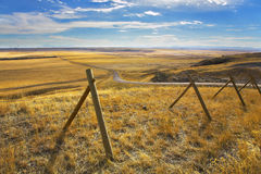 The American prairie in October. Royalty Free Stock Photos