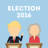 American presidential election. Stock Photo