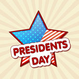 American Presidents Day celebration concept. Royalty Free Stock Photos