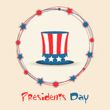 American Presidents Day celebration concept. Stock Images