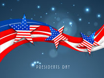 American Presidents Day celebration concept. Royalty Free Stock Photography