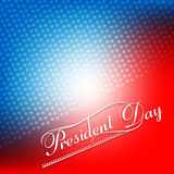 American Presidents Day colorful Background Stock Images