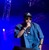 American rapper Big Boi. American rapper, song-writer, record producer and actor Big Boi live on stage at Flow 2010 Festival on August 13, 2010 in Helsinki stock photography