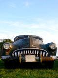 American Rat Car. Old american vintage car in a rusty and un-polisched rat state Stock Photography