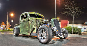American rat rod. Made from parts of many different cars and models Stock Photography