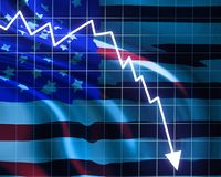 American recession Stock Photography