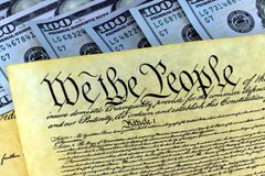 The American Recovery and Reinvestment Act - Government Concept Stock Photo