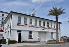 American Red Cross Volunteer Life Saving Corps, Jacksonville, Florida stock photo