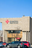 American Red Cross Exterior Building and Logo Stock Images