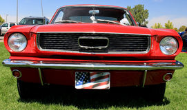 American Red Hot Rod Stock Photography