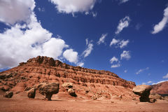 American red rock desert Royalty Free Stock Photo