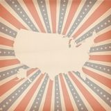 American retro background Royalty Free Stock Photography