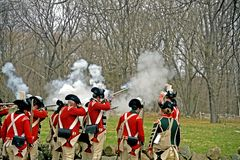American Revolution stock images