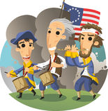 American revolution Stock Photo