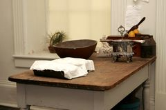 American Revolution kitchen Stock Images