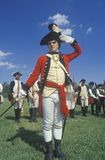 American Revolution reenactment Stock Photography