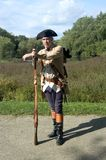 American Revolution Soldier Stock Photography