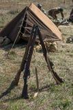American rifle M1 Garand of the Second World War Royalty Free Stock Photo