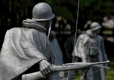 American Rifleman, Korean War Veterans Memorial Stock Images