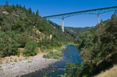 American River Stock Photography