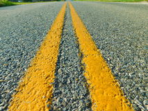 American Road. This image depicts a American road Stock Photography