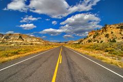 The American road royalty free stock photography