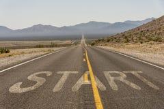 American road trip Stock Photo