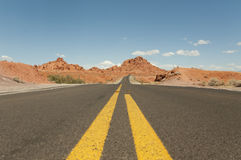 American road Stock Photography