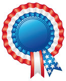 American rosette ribbon. Stock Photography