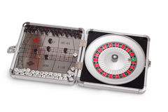 American Roulette table game sealed Royalty Free Stock Image