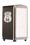 American route 66 napkin holder Royalty Free Stock Photography