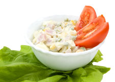 American Salad Stock Photography