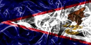 American Samoa smoke flag, United States dependent territory fl. Ag Stock Photography
