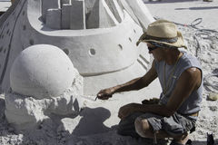 2015 American Sand Sculpting Championships Royalty Free Stock Image
