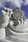 2015 American Sand Sculpting Championships Royalty Free Stock Photos