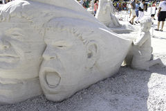2015 American Sand Sculpting Championships Royalty Free Stock Photo