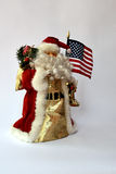 American Santa Claus Stock Photography