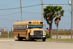 American school bus Royalty Free Stock Photos