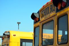 American school bus. stock images