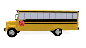 American schoolbus Stock Images