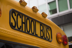 American Schoolbus Royalty Free Stock Photo