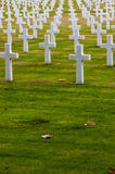 American Second World War Cemetery Royalty Free Stock Photography