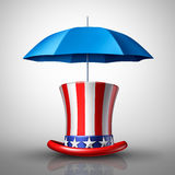 American Security Concept Royalty Free Stock Photography