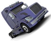 American sem -truck Royalty Free Stock Photos