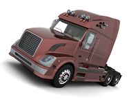American sem -truck Royalty Free Stock Image