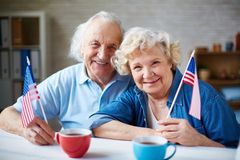 American seniors Stock Image