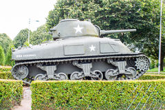 American Sherman tank from World War II. Stock Image