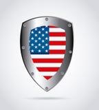 American shield design Stock Image